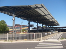 The Newly Built Bus Interchange