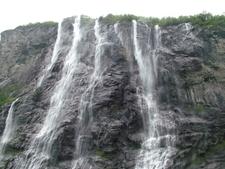 Geirangerfjord Sieben Schwestern