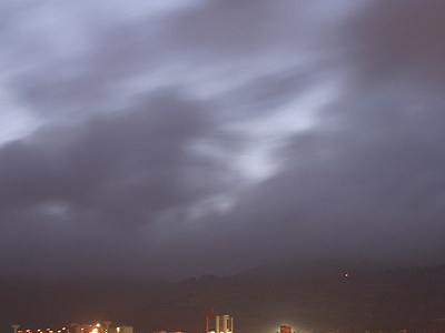 Gejiu  And  Lake  At  Night