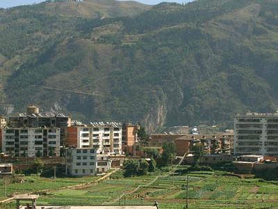 Gejiu  West  Hills  Looking  East