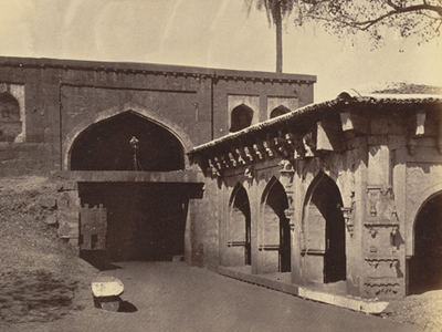 Main Gate To The Fort