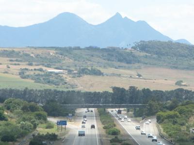 N2 Freeway Between Mossel Bay And George