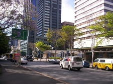 George Street Brisbane From Law Courts Complex