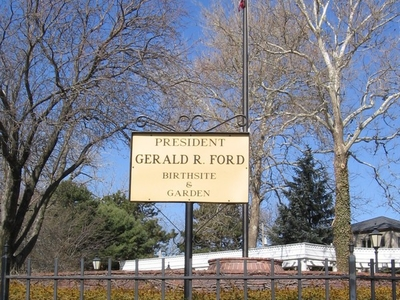 Gerald Ford Birthsite And Garden