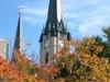Gesu Church In Autumn