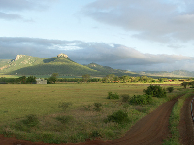 Part Of The Lebombo Mountain Chain
