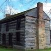 Log Cabin Gilliland William S Y Cementerio