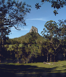 Mount Coonowrin Glass House Mountains