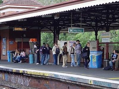 Glenferrie Station