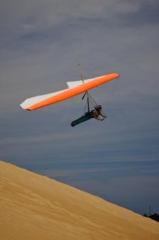 Gliding Off Jockey's Ridge