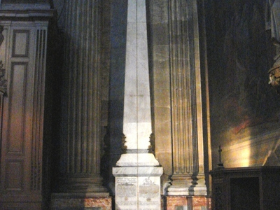 Gnomon Of Saint Sulpice