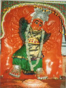 Goddess Saptashrungi Devi Of Vani Near Nasik City Maharasht