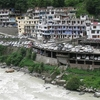 Govindghat As Seen After Crossing From River Alaknanda