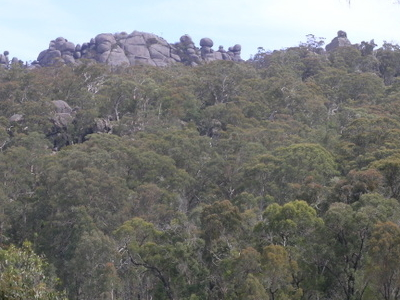 Granite Tors In Cathedral Rock National Park