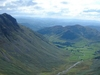 Great  Langdale From  Rossett  Pike