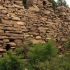 Remnants Of The Great Wall Of Qi On The Dafeng Mountain