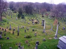 Vista From The Hillside Mausoleum