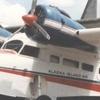 Grumman Goose Amphibian Aircraft At Carson Airport