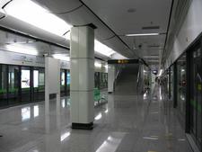 Guanglan Road Station Platform