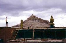 Gyantse Fort From Kumbum Roof