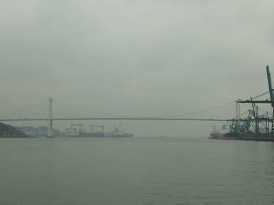 Haicang  Bridge Seen From South
