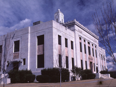 Hall County Courthouse In Gainesville