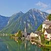 Hallstatt - Austrian Alps Backdrop