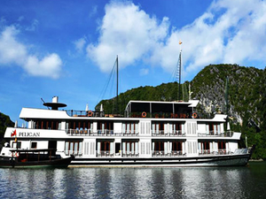 Best Deal from Halong Legends Travel: 154$ for Pelican Cruise Photos