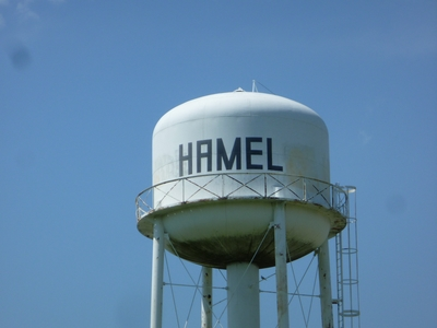 Hamel Water Tower