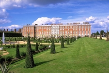 View Of Hampton Court Palace