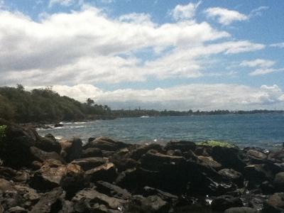 Hanakao Beach Looking South