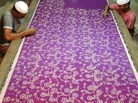 Hand Embroidered Silk Saree,Varanasi,India