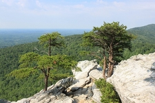 Hanging Rock State Park View - North Carolina