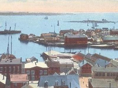 Harbor  View Ten  Pound  Island  Light
