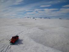 Harding Icefield Between Bear And Skilak Glaciers