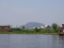 Hari Parbat Fort From Dal Lake