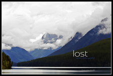 Harris Glacier Montana USA