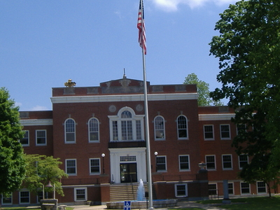 Hart County Courthouse In Munfordville Kentucky