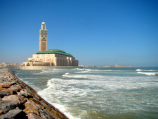 The Mosque Seen From The Seaside