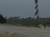Cape Hatteras Lighthouse From The Beach