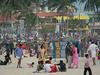 Hawah Beach Crowd - Kovalam