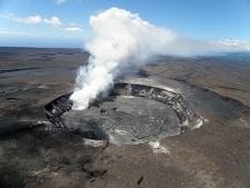 Halemaumau Crater From Hawaiian Volcano Observatory