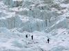 Heading Up Khumbu Icefall