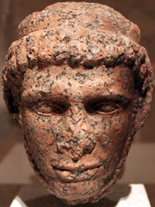 Head Of A Statue Of King Ptolemaios X