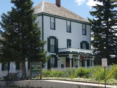 Healy House Museum Dexter Cabin