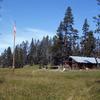 Heart Lake Patrol Cabin