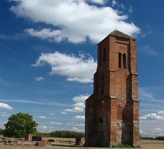 Herpály Church Ruin, Berettyóújfalu, Hungary