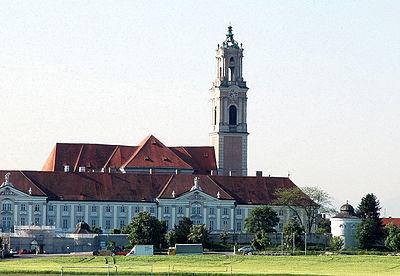Herzogenburg Stift Panorama, Lower Austria, Austria