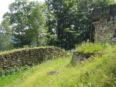 Prehistoric Heunischenburg, In The Vicinity Of Kronach