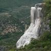 Hierve El Agua Large Waterfall
